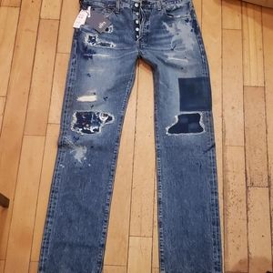 Levis made and crafted 501 original made in Japan